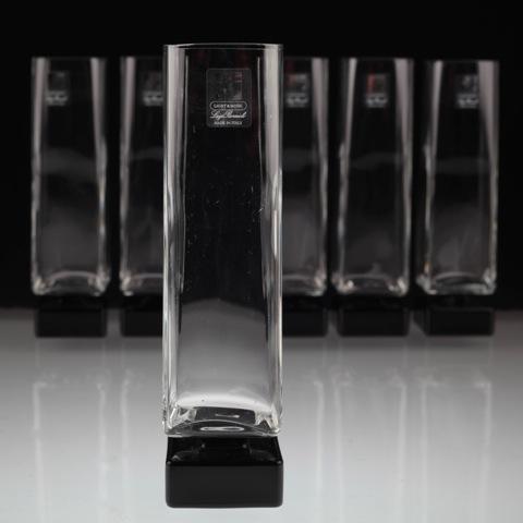 6 extravagante sektgl ser luigi bormioli light music for Schwarzes glas