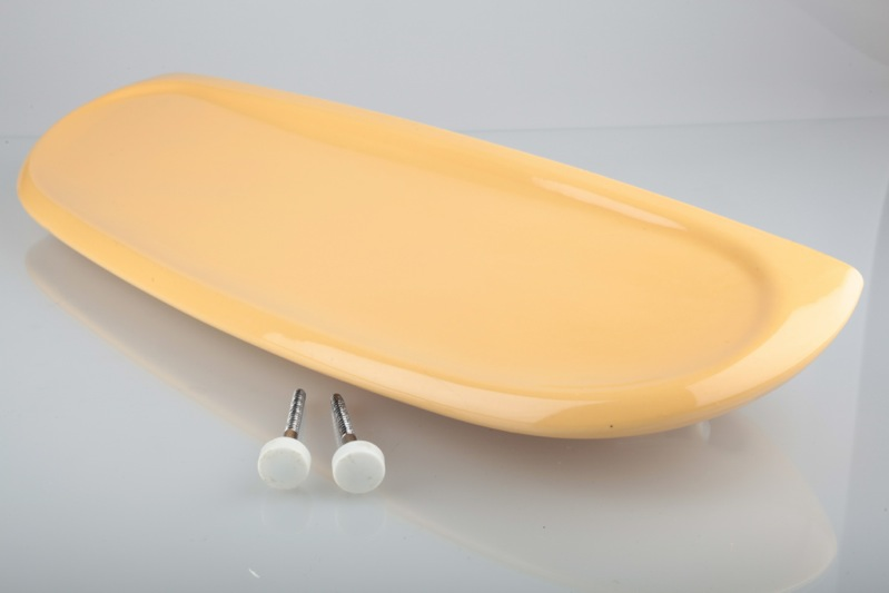 keramik bad ablage villeroy boch von luigi colani gelb senfgelb curry ebay. Black Bedroom Furniture Sets. Home Design Ideas