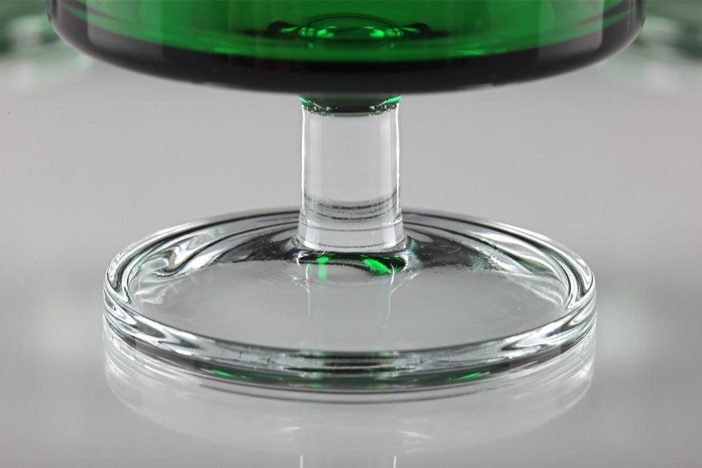 6 sektschalen luminarc verrerie d 39 arques gl ser gr n gr nes glas dessertglas k48 ebay. Black Bedroom Furniture Sets. Home Design Ideas