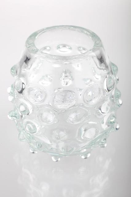 vintage noppenglas glas vase noppen abriss 9 cm berlin. Black Bedroom Furniture Sets. Home Design Ideas