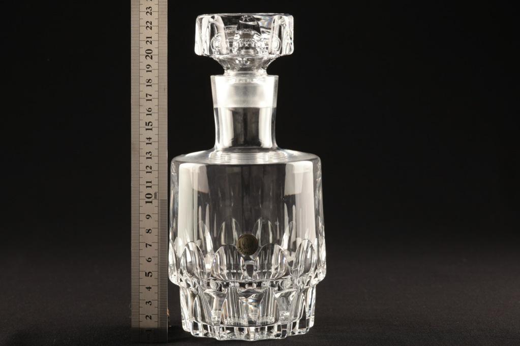 vintage whisky karaffe peill putzler texas kristall flasche w5b ebay. Black Bedroom Furniture Sets. Home Design Ideas