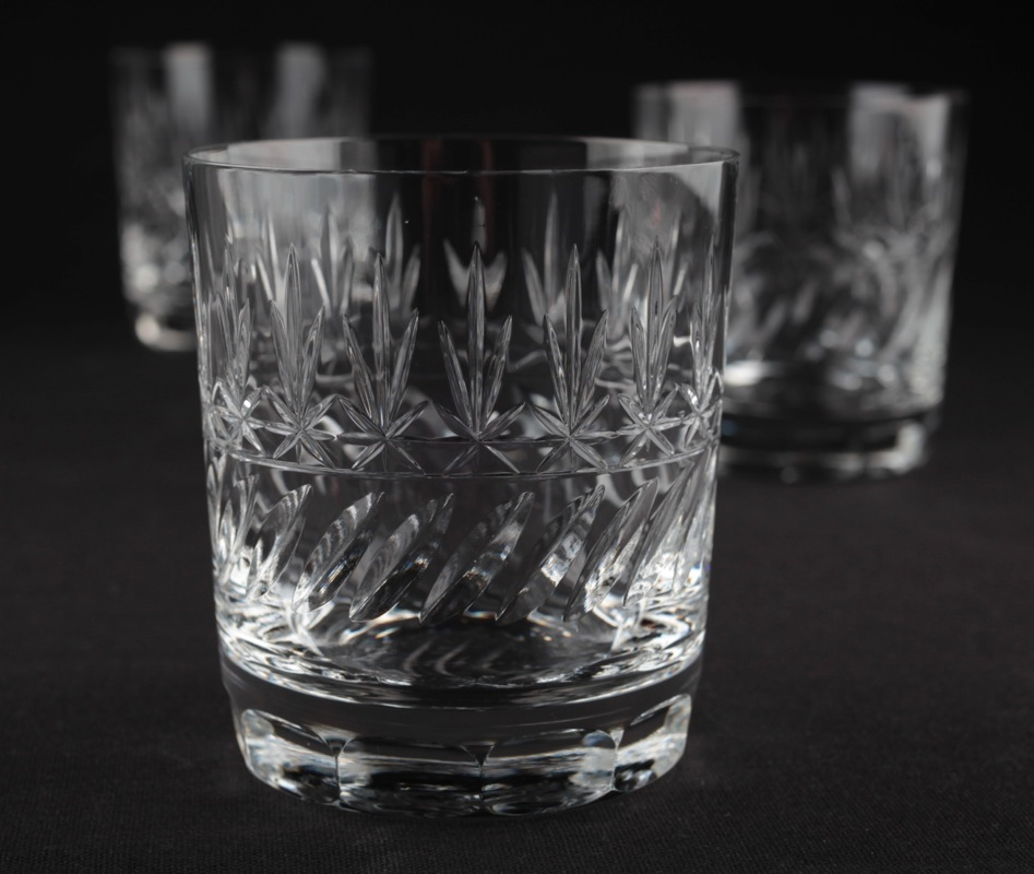 1 v 3 whiskyglas treveris kristallglas tumbler whisky glas mundgeblasen k37 ebay. Black Bedroom Furniture Sets. Home Design Ideas